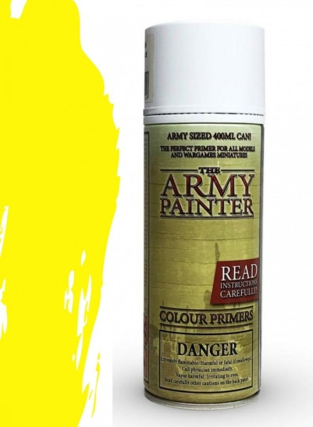 The Army Painter: Color Primer, Daemonic Yellow 400 ml