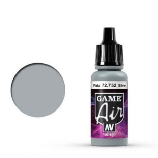 Vallejo Game Air 752 Silver, 17 ml