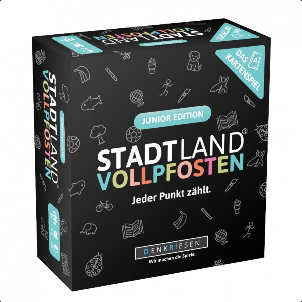 Stadt Land Vollpfosten: Junior Edition (dt.)