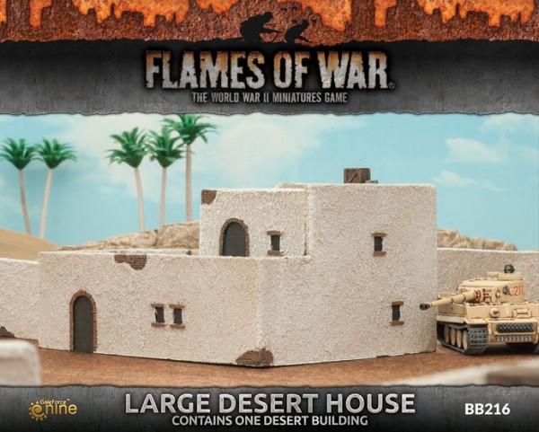 Large Desert House