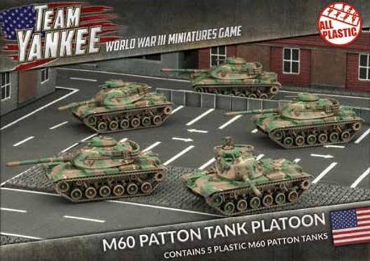 Team Yankee M60A1 & A3 (x5 Plastic)