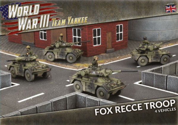 Team Yankee: Fox Recce Troop (plastic x4)