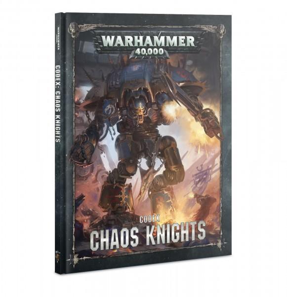 Warhammer 40k Chaos Space Marines: Chaos Knights Codex (englisch)