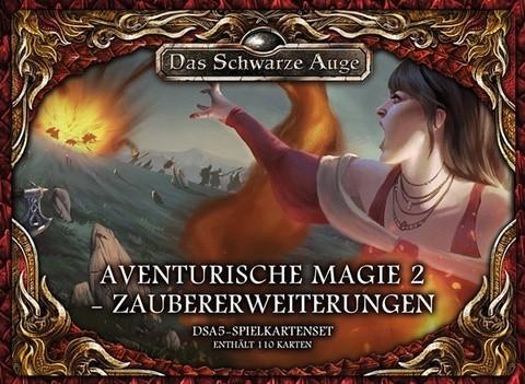 DSA5 Spielkartenset Aventurische Magie 2 Zaubererweiterungen