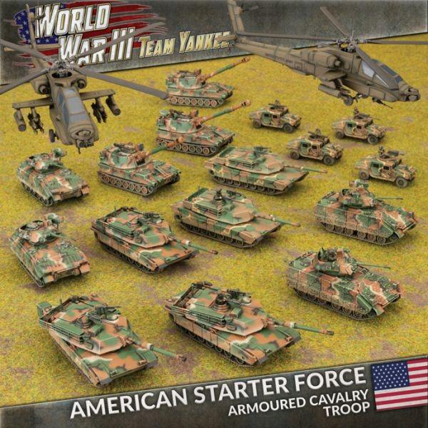 Team Yankee American Starter Force (plastic)