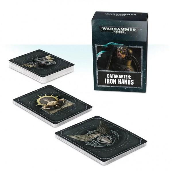 Warhammer 40k Space Marines: Space Marines Datacards: Iron Hands (deutsch)