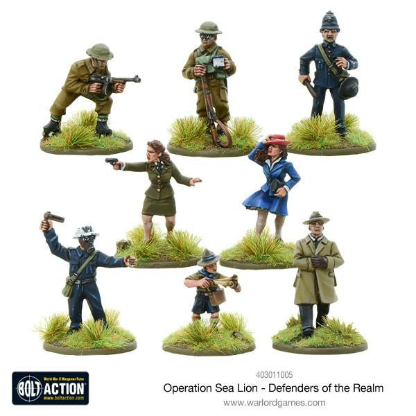 Bolt Action: British Op. Sea Lion Defenders of the Realm (8)