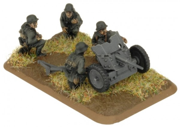 Flames of War GE: 3,7 cm Tank Hunter Platoon (x4 Plastik)
