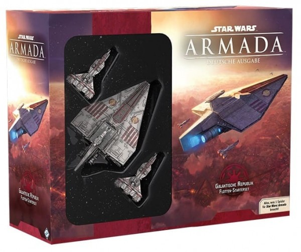 Galaktische Republik - Starterset (DE) - Star Wars Armada