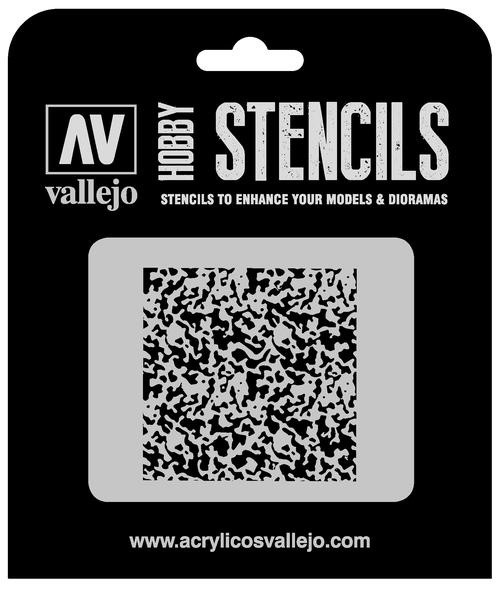 Vallejo Hobby Stencils: Weathered Paint 1/72 Markings