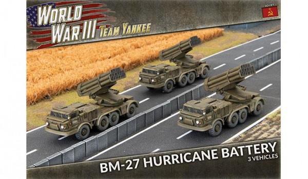 Team Yankee BM-27 Hurrican Battery (x3)