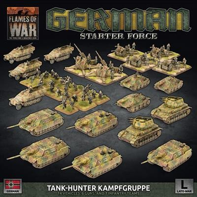 Flames of War GE: German Tank-Hunter Kampfgruppe (Plastic)