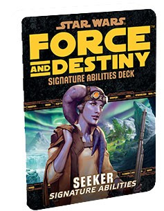 StarWars RPG: Force and Destiny Seeker Signature Abilities Specialization