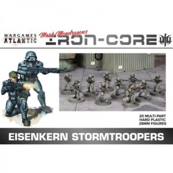Wargames Atlantic: Eisenkern Stormtroopers (x20 Plastic)