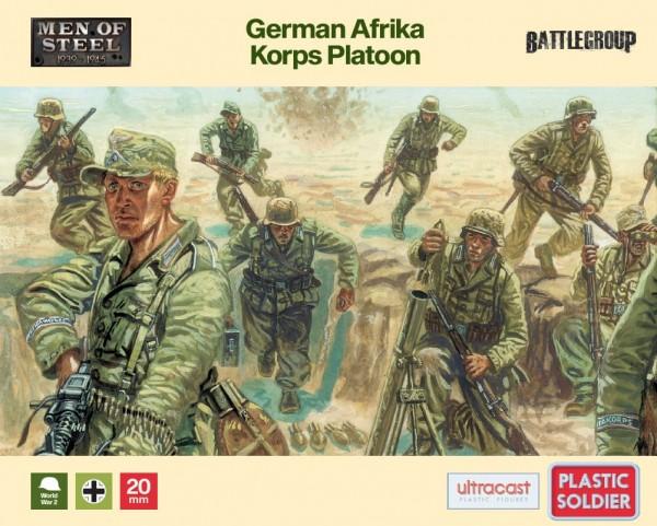 Plastic Soldier: 1/72 Afrika Korps Platoon (x44)