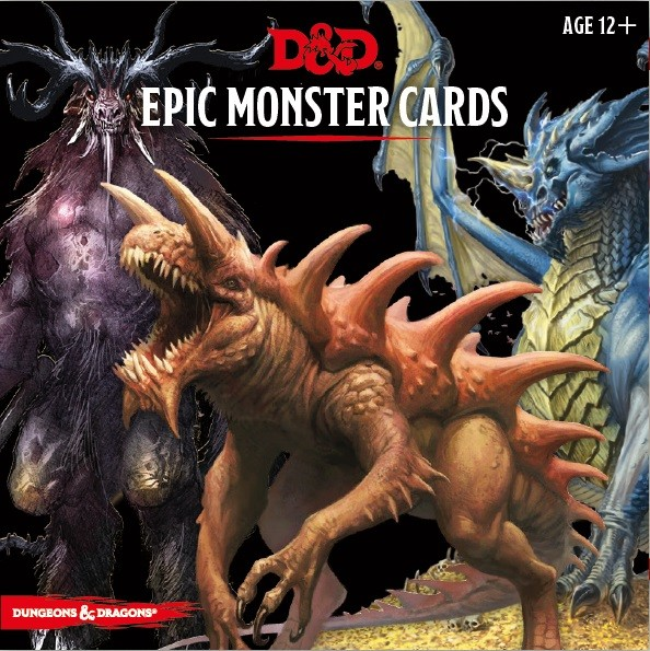 Monster Cards Epic Monsters (77 cards)