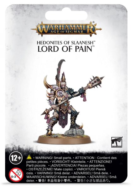 Hedonites of Slaanesh Lord of Pain