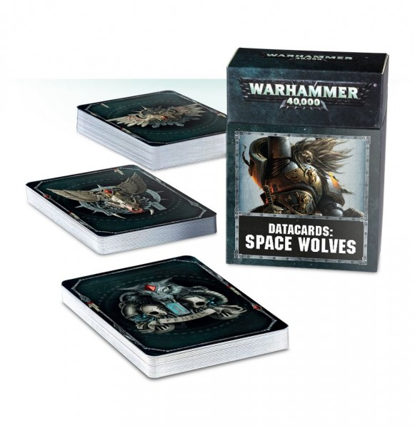 Space Wolves: Datacards (englisch)