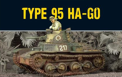 Bolt Action: Japanese Type 95 Ha-Go