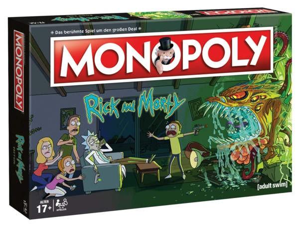 Monopoly - Rick & Morty (dt.)