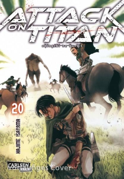 Attack on Titan Band 20