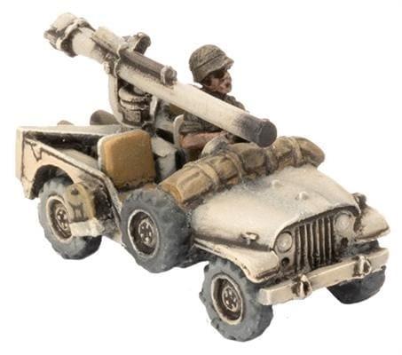 Oil War: Anti-Tank Jeep Group (x6)