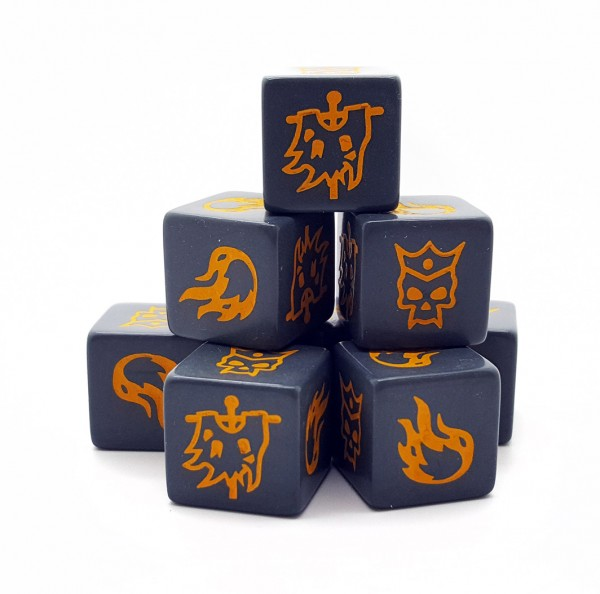 Forces of Chaos Dice Pack (8)