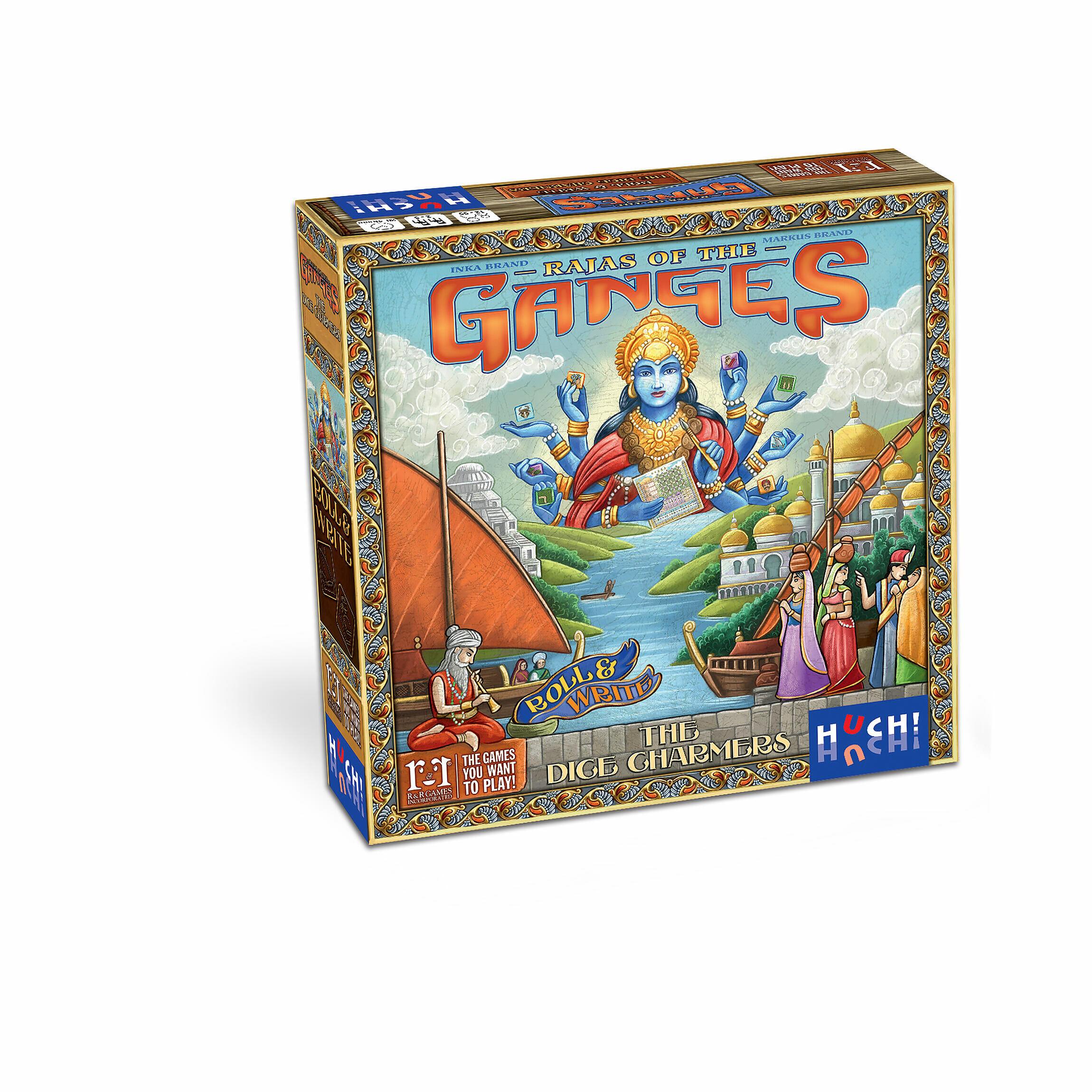 Rajas Of The Ganges The Dice Charmers De Weitere Von A Z Familienspiele Gesellschaftsspiele Fantasy In