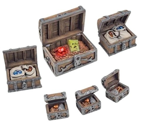 Frostgrave: Open Chests (6)