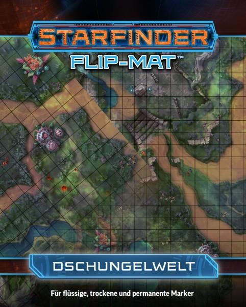 Starfinder Flip-Mat: Dschungelplanet