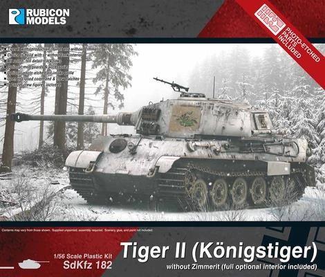 German Tiger II (Königstiger ohne Zimmerit)