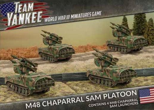 Team Yankee Chaparral (x4)