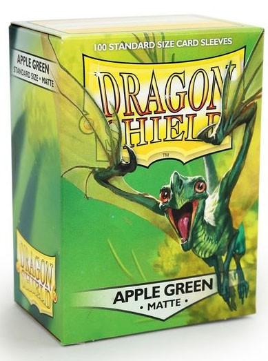 Dragon Shield Matte: Apfelgrün (100 Stück)