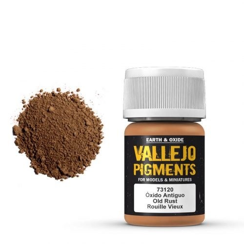 Vallejo Pigment Old Rust 30ml