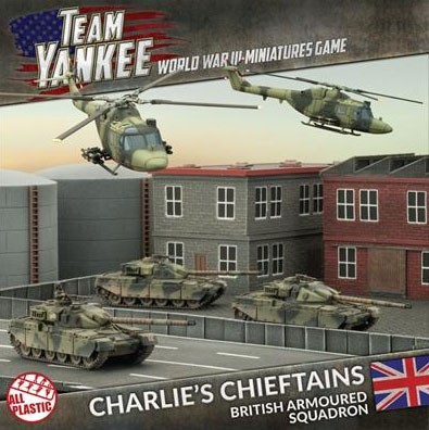 Team Yankee: Charlie´s Chieftains Army Deal (plastic)