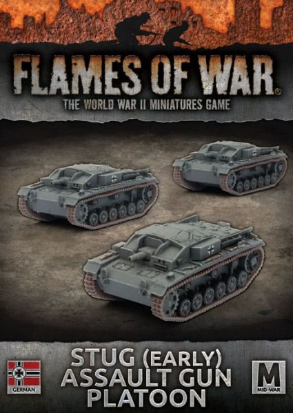 Flames of War GE: StuG Assault Gun Platoon (x3)