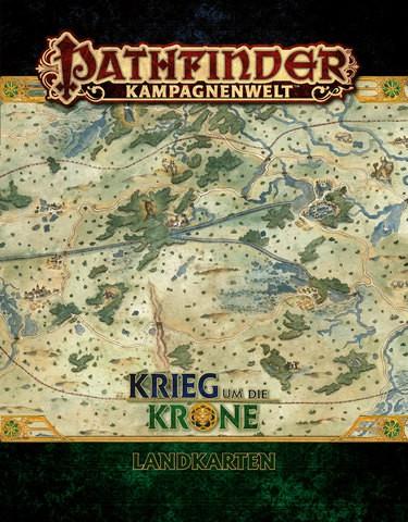 Pathfinder Krieg um die Krone Landkarten