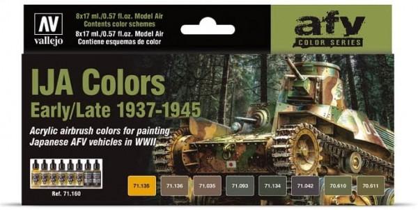 Model Air: Model Air Set IJA Camouflage Colors (1939-1945) (8)