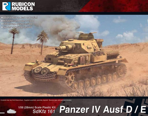 Panzer IV Ausf D / E (1/56)