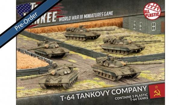 Team Yankee T-64 (plastic x5)