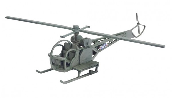 Bolt Action: 28mm Sioux Helicopter (Medevac Option)