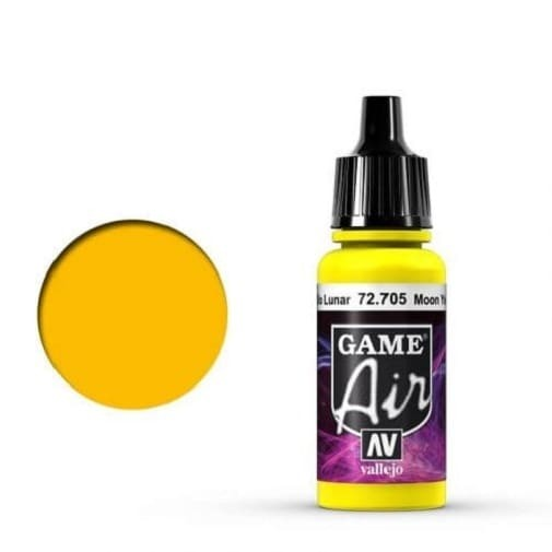 Vallejo Game Air 705 Moon Yellow, 17 ml