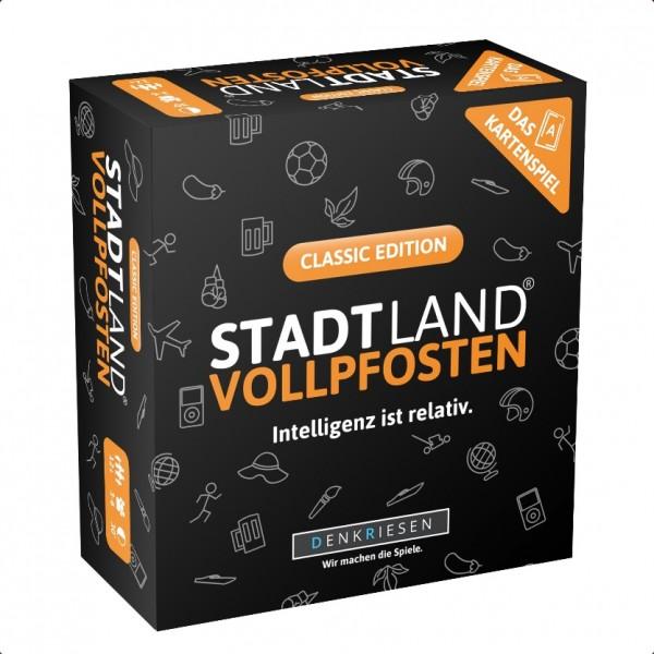 Stadt Land Vollpfosten: Classic Edition (dt.)