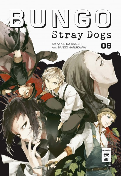 Bungo Stray Dogs Band 06