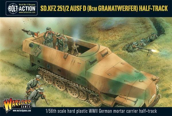 Bolt Action: German SdKfz 251/2 Ausf. D (8cm Granatwerfer)
