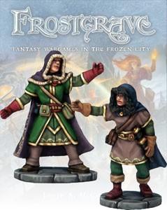 Frostgrave: Frostgrave Illusionist & Apprentice