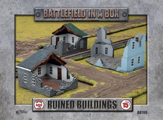 Ruined Buildings (x3)