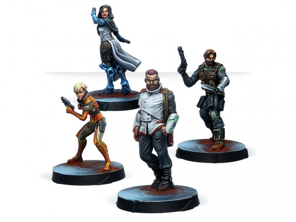 Agents of the Human Sphere. RPG Characters set Box