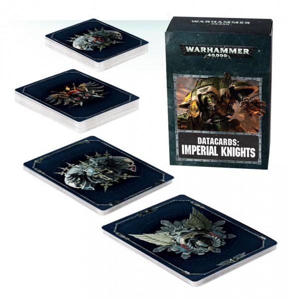 Warhammer 40.000 Imperial Knights Datacards (englisch)