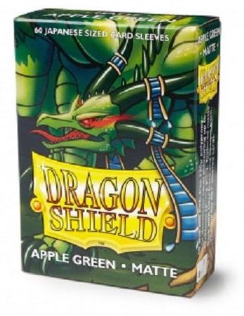 Dragon Shield Japanese Matte Apfelgrün (60 Stück)